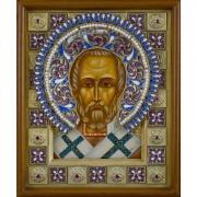Св. Николай Чудотворец (эмаль)