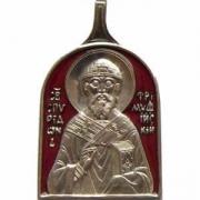 Св. Спиридон Тримифунтский (эмаль)