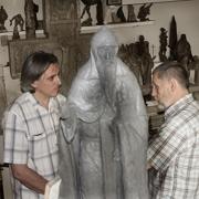 Скульптор Александр Смирнов
