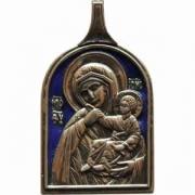 икона Божией Матери Отрада или Утешение (Эмаль)