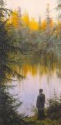 """картина """"Крестовое озеро"""""""