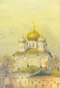 """картина """"Новоспасский монастырь"""""""