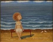 "картина "" Я слушаю море"""