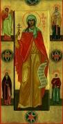 Мерная икона мученица Калисса с избранными святыми